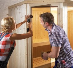 sauna bauen das projekt von hornbach schweiz. Black Bedroom Furniture Sets. Home Design Ideas