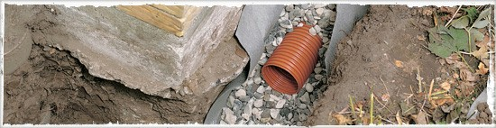 entw sserung durch drainage von hornbach schweiz. Black Bedroom Furniture Sets. Home Design Ideas