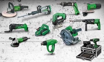 Hitachi Powertools Sortiment
