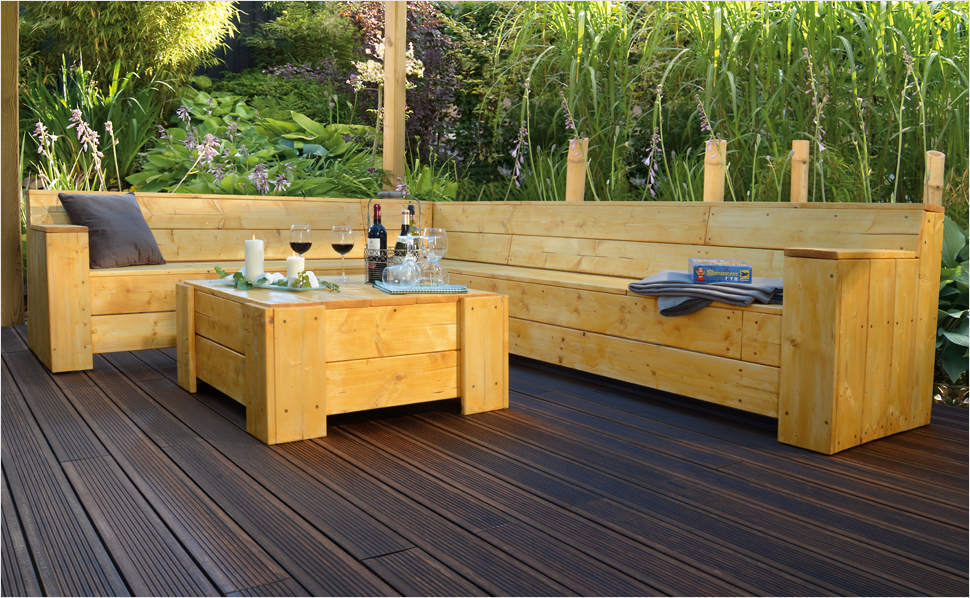 gartenmobel holz wetterfest machen. Black Bedroom Furniture Sets. Home Design Ideas