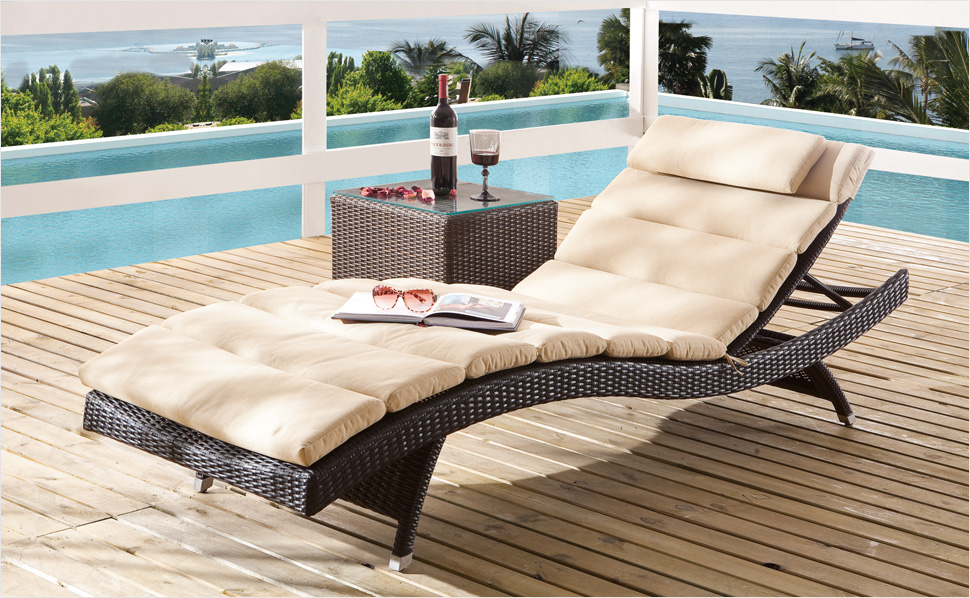 polyrattan finest outdoor outside round resin wicker. Black Bedroom Furniture Sets. Home Design Ideas