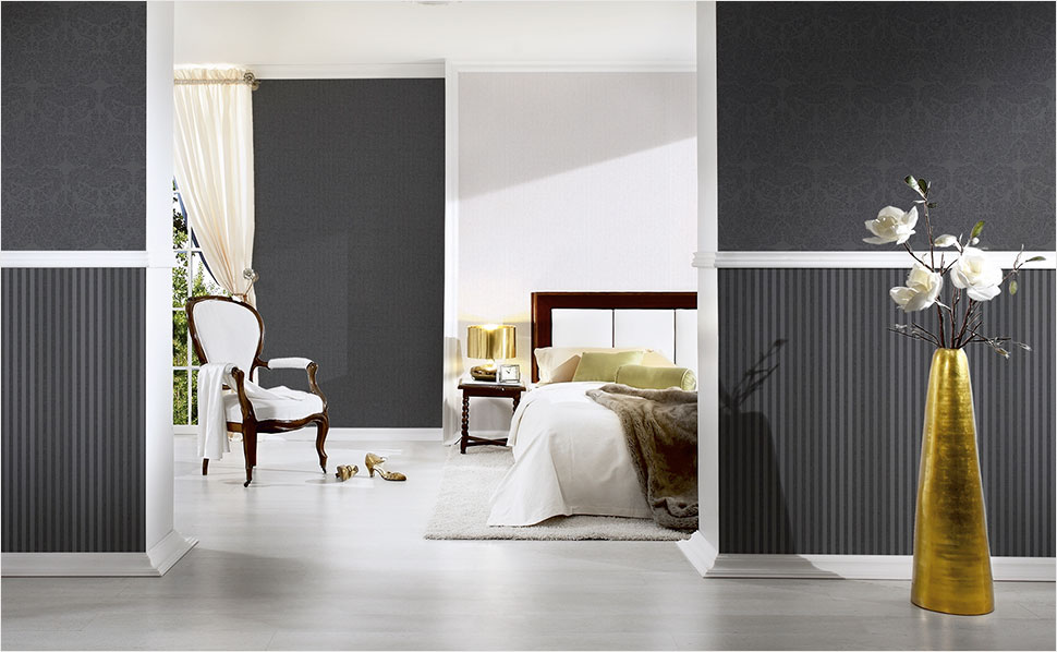 tapeten f rs schlafzimmer bei hornbach schweiz. Black Bedroom Furniture Sets. Home Design Ideas