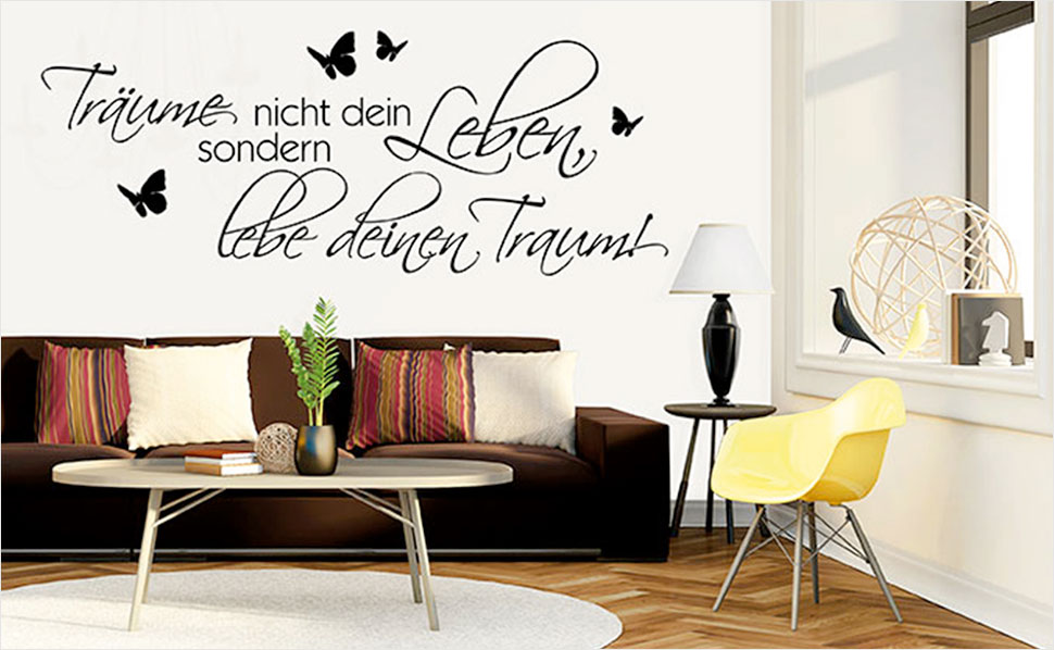 r ume mit wandtattoos gestalten mit hornbach schweiz. Black Bedroom Furniture Sets. Home Design Ideas