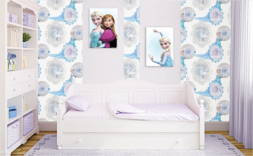 frozen die eisk nigin kinderzimmer bei hornbach schweiz. Black Bedroom Furniture Sets. Home Design Ideas