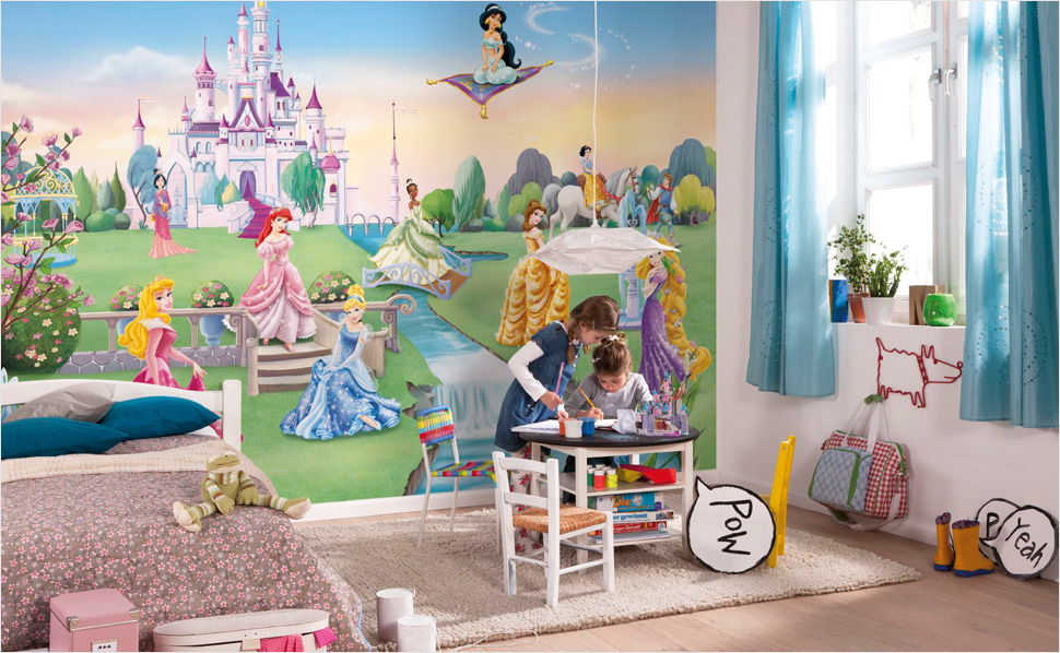 disney edition komar tapeten bei hornbach schweiz. Black Bedroom Furniture Sets. Home Design Ideas