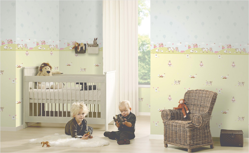 happy kids p s tapeten bei hornbach schweiz. Black Bedroom Furniture Sets. Home Design Ideas