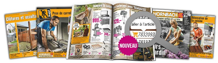 Brochures et catalogues HORNBACH