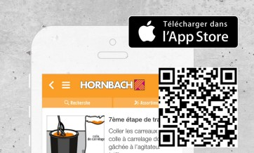 Application HORNBACH, Apple Store