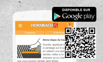 Application HORNBACH, Google Play Store