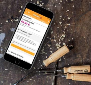 Application Hornbach