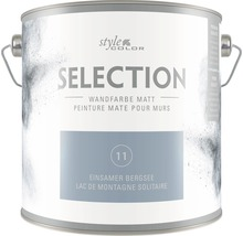 Wandfarbe StyleColor SELECTION Einsamer Bergsee 2.5 l