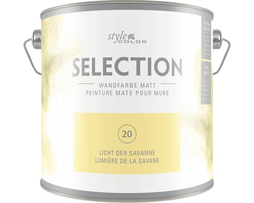 Wandfarbe StyleColor SELECTION Licht der Savanne 2.5 l