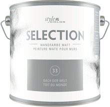 Wandfarbe StyleColor SELECTION Dach der Welt 2.5 l