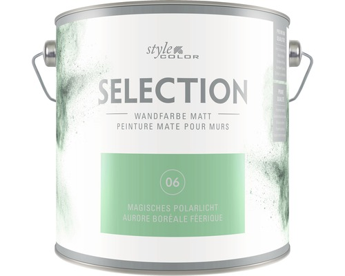 Wandfarbe StyleColor SELECTION Magisches Polarlicht 2.5 l