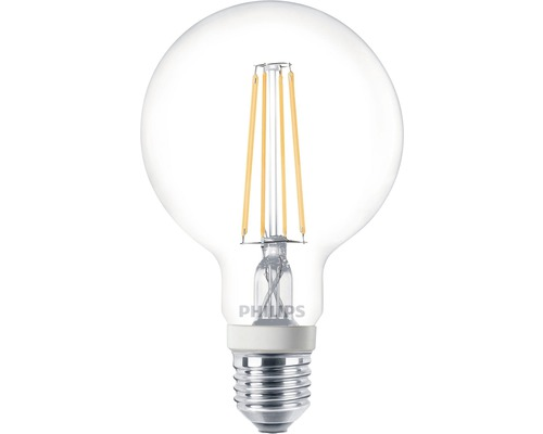 Philips Led Lampe Globeform Dimmbar E27 7w 60w 860 Lm 2700 K