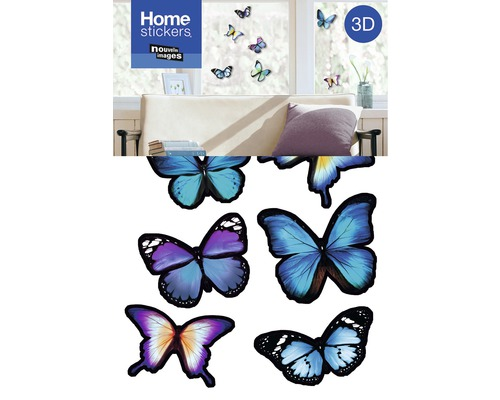 wandtattoo 3d sticker schmetterling 24x36 cm kaufen bei. Black Bedroom Furniture Sets. Home Design Ideas