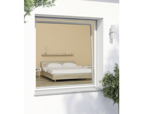 insektenschutz fenster plus weiss 140x150 cm kaufen bei. Black Bedroom Furniture Sets. Home Design Ideas