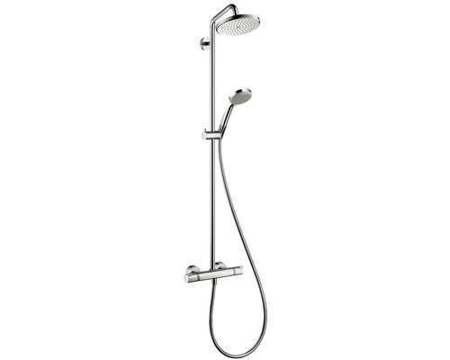 hansgrohe croma 220 air 1jet showerpipe 27185000 kaufen bei. Black Bedroom Furniture Sets. Home Design Ideas