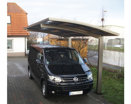 skiatsu aluminium carport 270x500 cm doppelt eloxiert kaufen bei. Black Bedroom Furniture Sets. Home Design Ideas