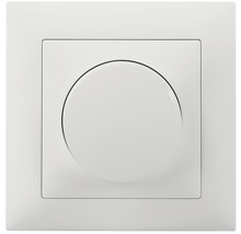 Edizio Due UP LED Universal Drehdimmer 4-400W IP 20 weiss